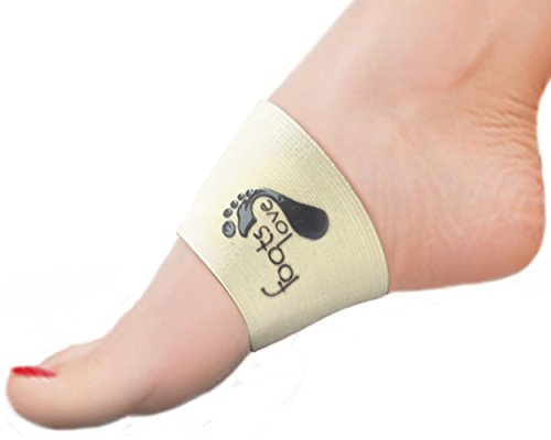 Discover How To Stop Arch Pain. Compression Plantar Fasciitis Brace- Copper Arch Support Sleeves. Preferred by Trainers and Doctors Everywhere to Relieve Arch and Heel Pain, Align Back, Hips and Knees