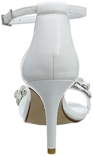 Talones Tobillo del la Correa Dune de White Blanco Magnolea para Mujer RwFZq44px