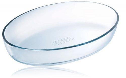 Plato ovalado de cristal para horno Pyrex Classic 35 cm x 24 cm ...