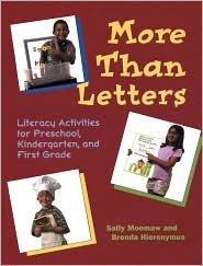 More Than Letters Publisher: Redleaf Press