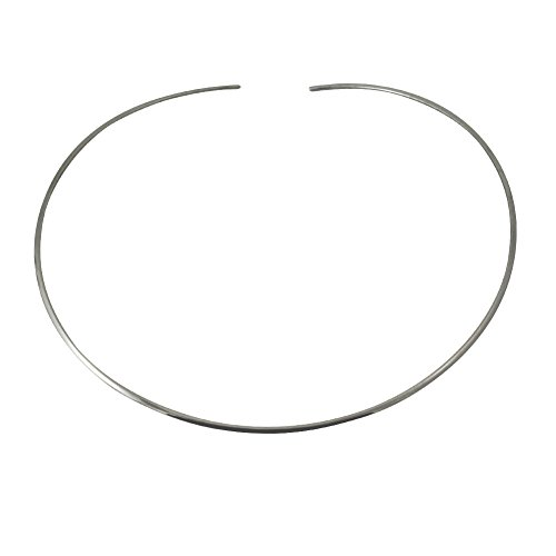apop nyc Sterling Silver Thin Cuff Choker Collar (Cuff Sterling Silver Necklace)