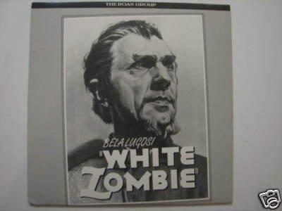 White Zombie (1932) Laserdisc Ld - Bela Lugosi - Laser Disc