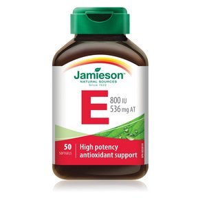 Jamieson Vitamin E 800 IU, 50 softgels