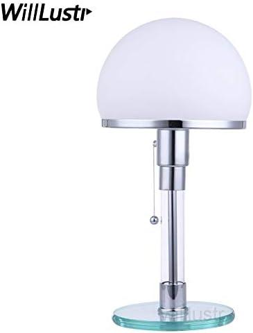HNZZN WG24 Bauhaus lámpara de mesa Wilhelm Wagenfeld diseño ...