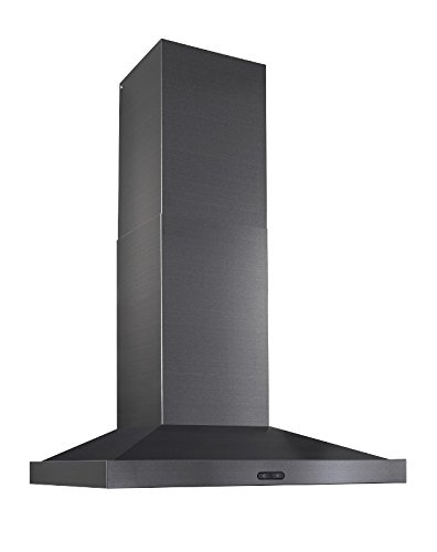 Broan EW5430BLS Elite Range Hood, 30'', Black Stainless by Broan (Image #6)