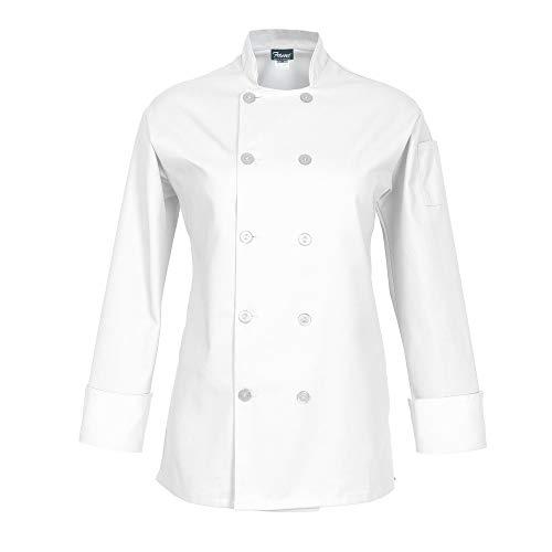 10 Button Chef Coat - 7