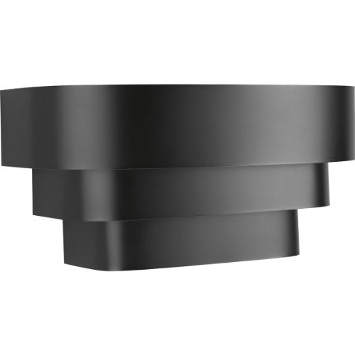 Progress P7103-31, Home Theater Sconce Wall Sconce In Black