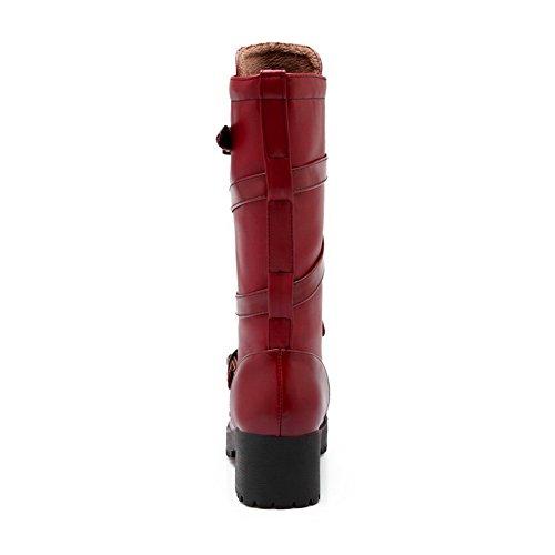 1TO9 - A Collo Alto Donna, Rosso (Claret), 35