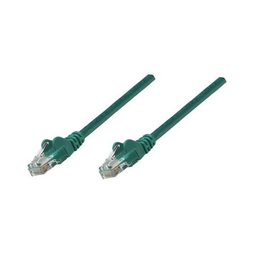 10Ft Green Intellinet 319782 Cat-5E Utp Patch Cable