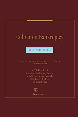 Collier on Bankruptcy, Volume 1