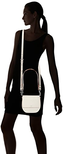 JOOP Grano Colorblocking Rhea Shoulderbag Shf, Borsa a spalla Donna Bianco (Offwhite)