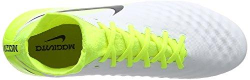 Nike Magista Orden Ii, Botas de Fútbol para Hombre Verde, Color blanco