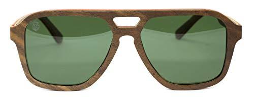 Óculos de Sol de Madeira Gallante Light, MafiawooD