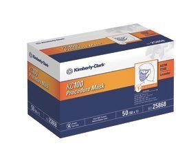Halyard Health 25868 (Formally Kimberly Clark) Medical Hospital Quality Medical Mask Procedure Kc100 Lavender (Pack of 50)