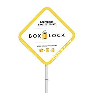 BOXLOCK: Yard Sign Kit- Helping to Protect Packages from All Major U.S. Carriers