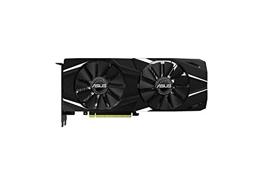 ASUS GeForce RTX 2080 Ti O11G Dual-fan OC Edition GDDR6 HDMI DP 1.4 USB Type-C graphics card (DUAL-RTX2080TI-O11G) (Renewed)