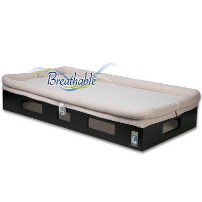 Secure Beginnings Safesleep Breathable Crib Mattress, Espres