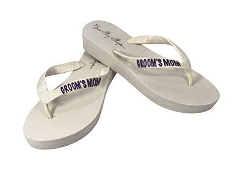 Amazoncom Mother Of The Groom Or Bride Flip Flops -5007
