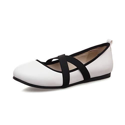 Femme Balamasa Sandales Apl10550 Compensées Blanc rtArvqw