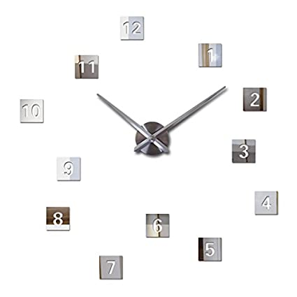 EverTrust(TM) new wall clock diy clocks reloj de pared quartz watch europe living