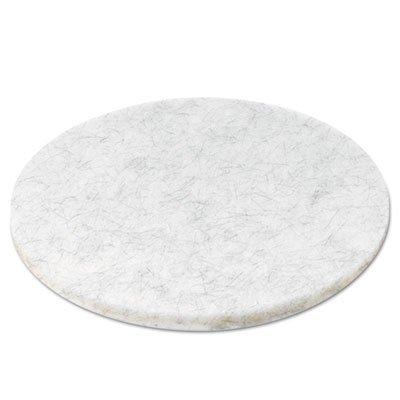 Ultra High-Speed Floor Pads, Natural Hair/Polyester, 20-Inch Diameter, 5/Carton, Sold as 1 Carton, 5 Each per Carton ()