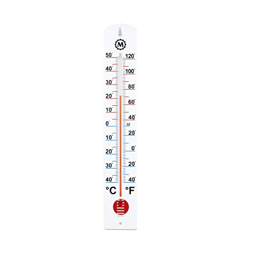 MARATHON BA030001 Vertical Outdoor Thermometer - 16-Inch
