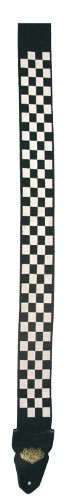 LM Products PS-4CK Silk Screen Guitar Strap, Checker