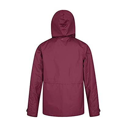 Mountain Warehouse Fell Womens 3 in 1 Jacket -Water Resistant Rain Jacket, Adjustable Hood Ladies Winter Triclimate… 6