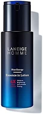 Laneige New Homme Blue Energy Essence In Lotion 125ml 4X Multi Funtion Moisturizer