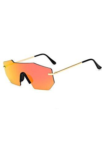 Vintage Gafas De Rojo Gafas De Marco Metal UV400 Sol Polarizadas Hombres YxZwR7R