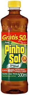 Desinfetante Pinho Sol Original 500Ml Promo Leve 500Ml Pague 450 Ml