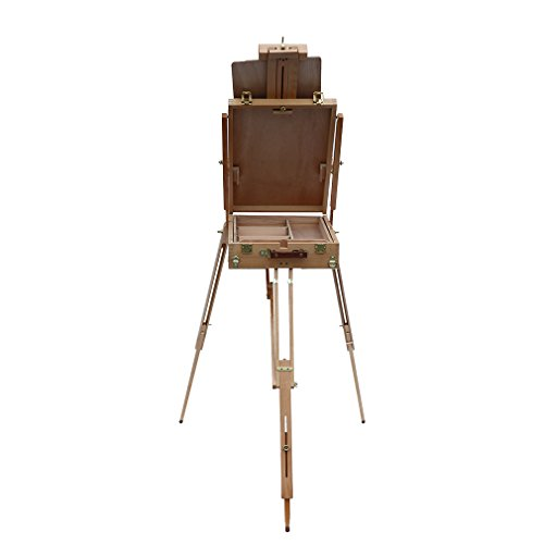 Nexttechnology Easel Italy High Grade Red Beech Easel for Artist Painters (Red Beech Wood) (Italy Easel)
