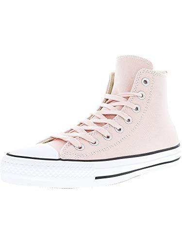 (Converse Chuck Taylor All Star Pro Hi Vapor Pink/Glow Natural High-Top Fashion Sneaker - 13M 11M)