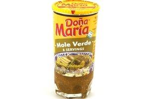 dona maria mole (verde) - 8.25oz [6 units] (072878495134) by Dona Maria