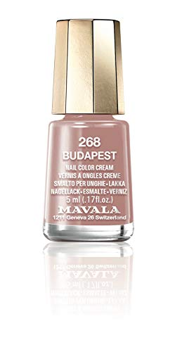 MAVALA MINI COLOR 5ML BUDAPEST N268 - ESMALTE CREMOSO 5ML, Mavala, Nude