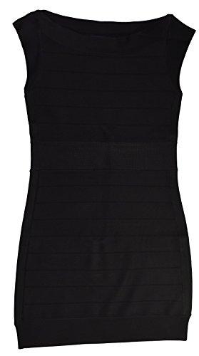 French Connection Spotlight Black Bandage Dress (Taylor Sleeveless Colorblock Dress)