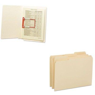 (KITSMD10434SMD68260 - Value Kit - Smead Reinforced Tab Manila File Folder (SMD10434) and Smead U-Clip Bonded File Fasteners)