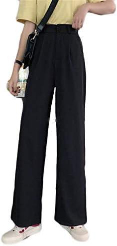 (ジャンーウェ)ワイドパンツ レディース ゆったり スラックス 着痩せ ロングパンツ ハイウエスト 無地 美脚 テーパード パンツ らくちん ストレッチ OL 通勤 カジュアル