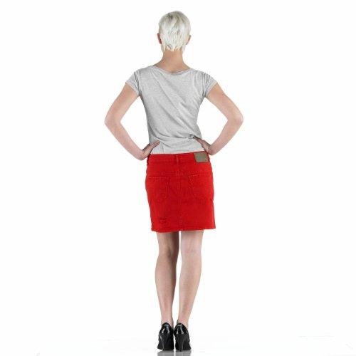 Diesel - Falda - Lápiz - Lunares - para mujer rojo rojo 36