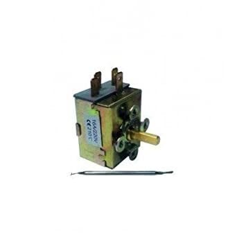 CubetasGastronorm Termostato freidora 210ºC 15a 250v Compatible movilfrit - P 780001: Amazon.es: Hogar