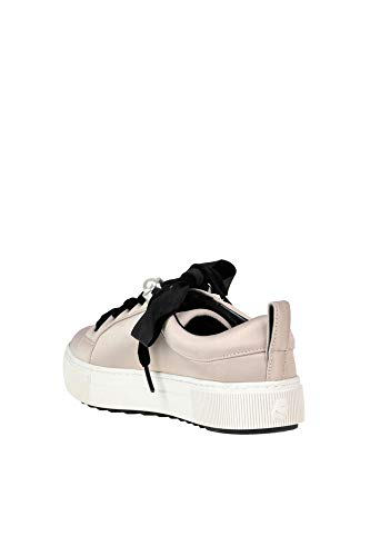 Cipria Lagerfeld Woman Satin Karl Embellished Sneakers 40wBgqS