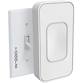 Switchmate Snap-On Instant Smart Light Switch That Listens - Switchmate TSM001WCAN Toggle