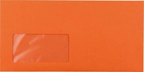 Briefumschlag C5 6 DL mit Fenster HK Orange 100g 229x114mm B07L4LX7Y1   Haltbar