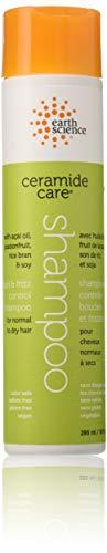 Earth Science Liquid Shampoo - Ceramide Care Curl & Frizz Control Shampoo Earth Science 10 oz Liquid