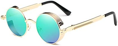 Dollger Vintage Steampunk Circle Sunglasses product image