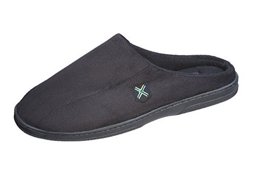 Roxoni Men's Slip On Clog Slippers;Comfort and Classic Year Round House Shoes