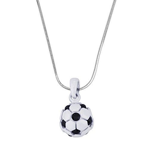 Lux Accessories Soccer Pendant Necklace Futbol Football Fútbol Mom