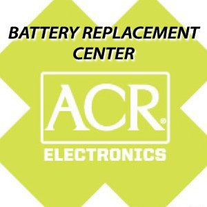 ACR FBRS 2897 Battery Replacement Service - PLB-300 ResQFix by ACR Electronics