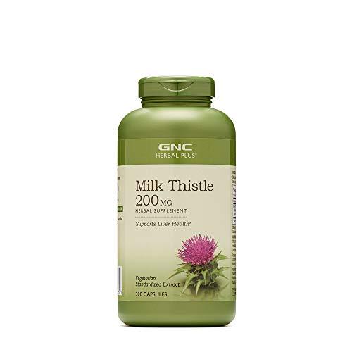 GNC Herbal Plus Milk Thistle 200 MG 300 caps