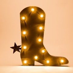 glitzhome-rustic-marquee-led-lighted-western-cowboy-boot-sign-wall-decor-battery-operated-red
